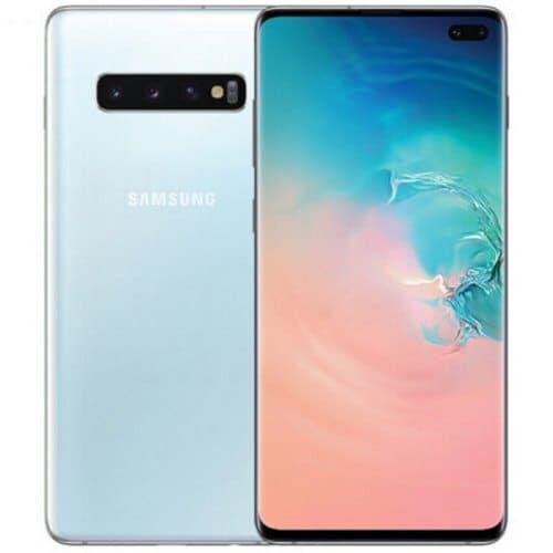 EU ECO Raktár - Samsung Galaxy S10+ 4G okostelefon - 8GB 512GB - Fehér