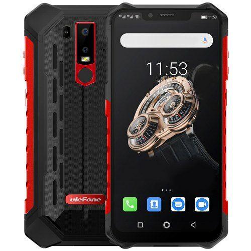 EU ECO Raktár - Ulefone Armor 6S 4G okostelefon 6.2 inch 6GB RAM 128GB ROM - Piros