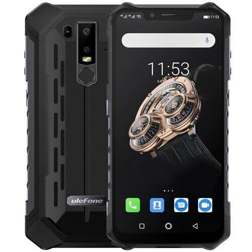 EU ECO Raktár - Ulefone Armor 6S 4G okostelefon 6.2 inch 6GB RAM 128GB ROM - Fekete