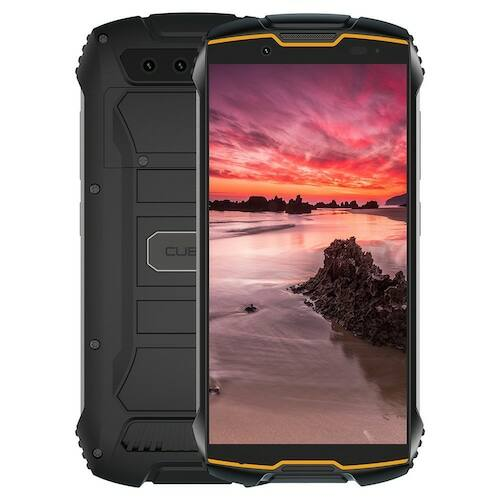 EU ECO Raktár - Cubot Kingkong Mini 2 4G DUAL SIM Android Okostelefon 4 inch QHD+ Screen Vízálló 4G LTE Dual-SIM Android 10 3GB RAM 32GB ROM 13.0MP Camera Mini Phone Face ID - Narancs