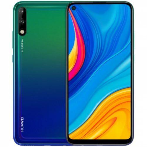EU ECO Raktár - HUAWEI Enjoy 10 4G okostelefon 6.39 inch EMUI 9.1 Android 9 4GB RAM 128GB ROM - Sötét Kék