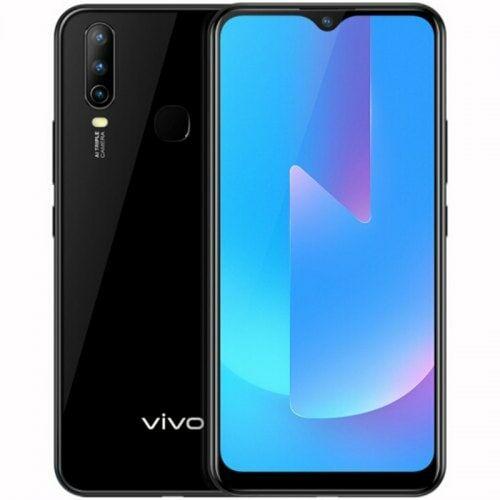 EU ECO Raktár - Vivo U3x 4G okostelefon 6.35 inch Android 9.0 Snapdragon 665 Octa Core 4GB RAM 64GB ROM - Fekete