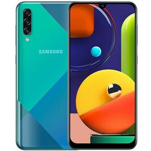 EU ECO Raktár - Samsung Galaxy A50s 4G okostelefon 6.4 inch Android 9.0 Exynos 9611 Octa Core 6GB RAM 128GB ROM - Zöld