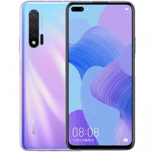 EU ECO Raktár - HUAWEI nova 6 5G 5G Okostelefon 6.57 inch Android 10 Kirin 990 Balong 5000 Octa Core 8GB RAM 256GB ROM - Lila