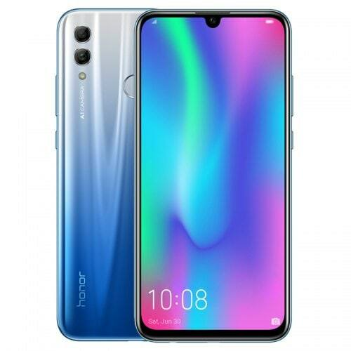 EU ECO Raktár - HUAWEI Honor 10 Lite 4G Okostelefon 6.21 inch Kirin 710F 8-core 4GB RAM 64GB ROM 13MP 2MP - Kék
