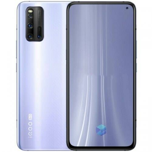 EU ECO Raktár - VIVO IQOO 3 Snapdragon 865 5G Okostelefon Eight-core 6GB RAM 128GB ROM 6.44 inch Camera 48MP + 13MP + 13MP + 2MP 4440mAh Battery Globális verzió - Ezüst