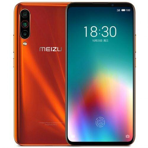 EU ECO Raktár - Meizu 16T 4G Smartphone 6.5 inch Flyme 8 Snapdragon 855 Octa Core 8GB RAM 128GB ROM - Narancssárga