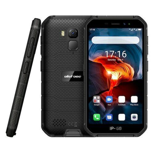 EU ECO Raktár - Ulefone Armor X7 Pro 4G Okostelefon - 4GB 32GB - Fekete