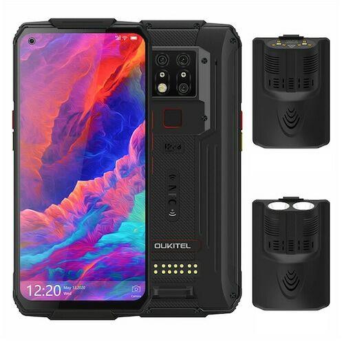 EU ECO Rakátr - OUKITEL WP7 4G Okostelefon MediaTek Helio P90 6.53 inch 48M + 8M + 2M előlapi Camera 16MP Front Camera Android 9.0 8GB RAM 128GB ROM 8000mAh Battery IP68 Vízálló Globális verzió - Fekete