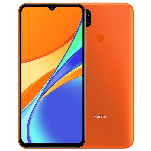Xiaomi Redmi 9C 4G Smartphone 6.53 inch Media Tek Helio G35 2.3GHz Octa-core 13MP AI Triple Camera 5000mAh 3GB RAM 64GB ROM - Narancs