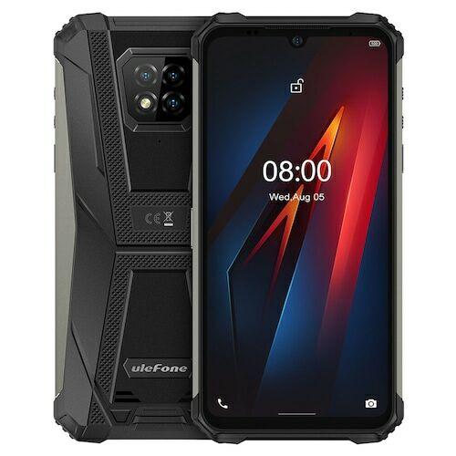 EU ECO Raktár - Ulefone Armor 8 4G 6.1 inch Okostelefon Android 10, Helio P60 Octa Core, 2.0GHz, 4GB RAM 64GB ROM - Fekete