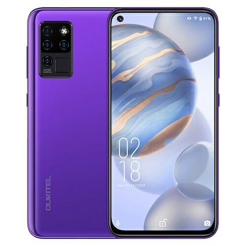 OUKITEL C21 4G Okostelefon Helio P60 Octa-Core 6.4 inch FHD Android 10 4GB RAM 64GB ROM - Lila