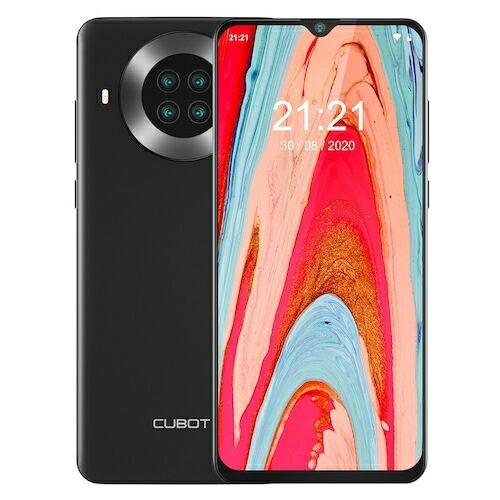 EU ECO Raktár - CUBOT NOTE 20 PRO 4G Smartphone 6.5 inch NFC Globális verzió - Fekete 8GB RAM + 128GB ROM - Fekete