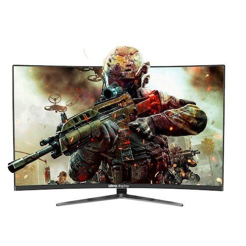 EU ECO Raktár - IDEADISPLAY YM27R 27-inch Gaming Computer Monitor 1500R - Fekete