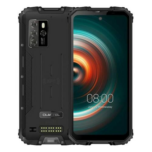 EU ECO Raktár - Oukitel WP10 5G Rugged Phone Okostelefon 8000mAh 6.67 Inch FHD Teljes Screen 8GB 128GB Quad Camera 48MP - Fekete