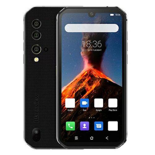 EU ECO Raktár - BlackView BV9900 Globális Bands IP68 / Vízálló 5.84 inch FHD+ NFC 4380mAh Android 9.0 48MP Quad előlapi Camera 8GB 256GB Helio P90 4G Okostelefon - Szürke