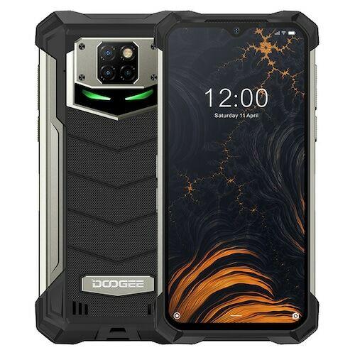 EU ECO Raktár - Doogee S88 Pro 6.3 inch FHD+ IP68 / IP69K Vízálló NFC 10000mAh Reverse Wireless Charging Android 10 6GB 128GB Helio P70 4G Okostelefon Globális verzió - Fekete