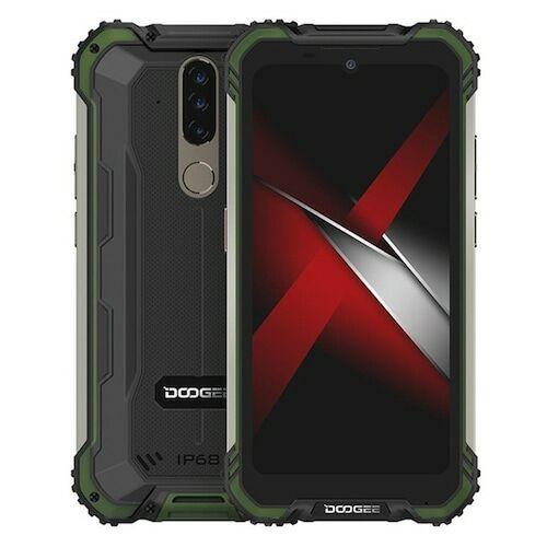 EU ECO Raktár - Doogee S58 Pro 4G Okostelefon Globális verzió 5.71 inch IP68 / IP69K Waterproof NFC 5180mAh Android 10 16MP AI Triple előlapi Camera 6GB 64GB Helio P22 - Zöld