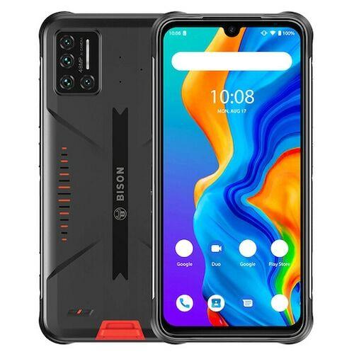 EU ECO Raktár - UMIDIGI BISON 4G IP68 IP69K Vízálló Okostelefon NFC Android 10 5000mAh 6GB 128GB Helio P60 6.3 Inch FHD+ 48MP Quad Camera - Narancs