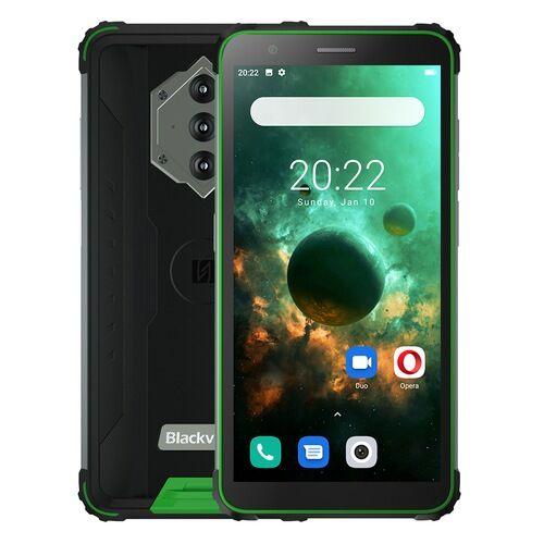 EU ECO Raktár - Blackview BV6600 IP68 Vízálló 8580mAh 4G Rugged Okostelefon Octa Core 4GB RAM + 64GB ROM 5.7 inch FHD Mobile Phone 16MP Camera NFC Android 10 - Zöld