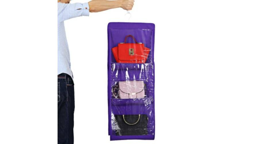 Felakasztható táska tartó - Lila - Egészség és szépség - A-Z ... b17728383d