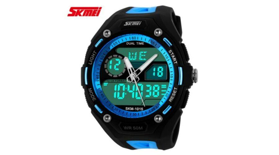 2590f818d2 Skmei 1015 Sport katonai vízálló LED dátumos Karóra - Kék - Férfi óra - A-Z  olcsóság.hu - Globális árak, hazai kiszolgálás