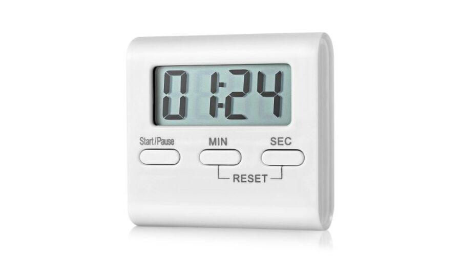 T-01 LCD kijelzős konyhai digitális Stopperóra - Fehér ... 978c350484